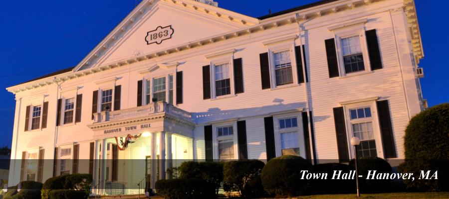 Town Hall Hanover MA